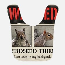 squirrel wanted poster Bib