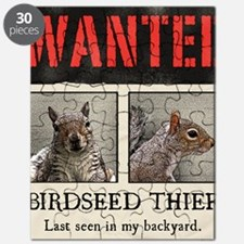 squirrel wanted poster Puzzle