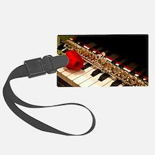 Flute Luggage Tag