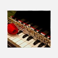 Flute Throw Blanket