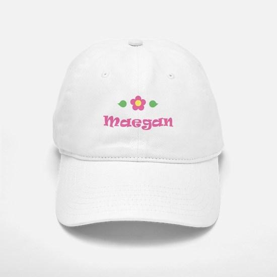 """Pink Daisy - """"Maegan"""" Baseball Baseball Cap"""