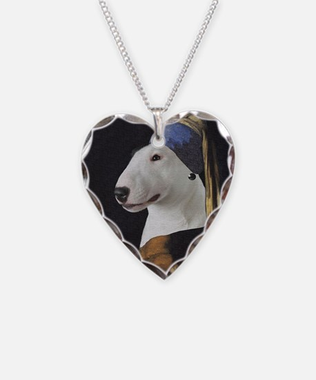 Bully With the Pearl Earring Necklace Heart Charm