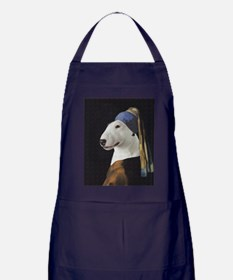 Bully With the Pearl Earring Apron (dark)