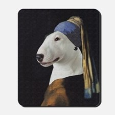 Bully With the Pearl Earring Mousepad