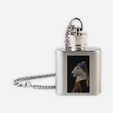 Bully With the Pearl Earring Flask Necklace