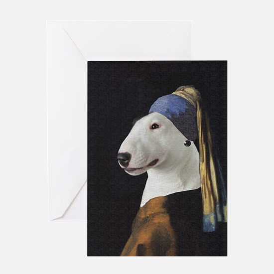 Bully With the Pearl Earring Greeting Card