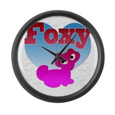 foxyb Large Wall Clock