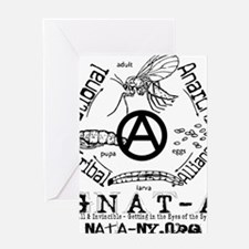 GNAT-A full Greeting Card