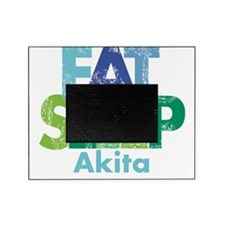 Eat Sleep Akita JPG Picture Frame