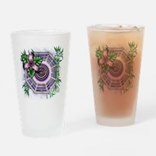 lost tv dharma orchid dark Drinking Glass