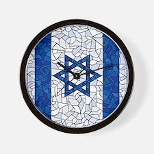 Israel Synagogue Tiffany Wall Clock
