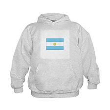 Argentina Flag Hoodie
