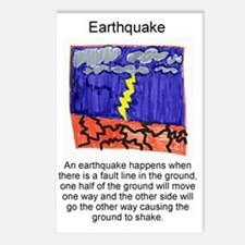 Earthquake Postcards (Package of 8)