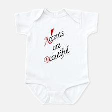 Accents are Beautiful Infant Bodysuit