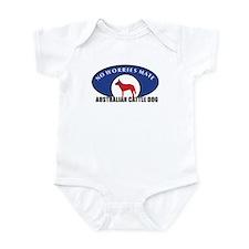 Red Dog Wear Infant Bodysuit