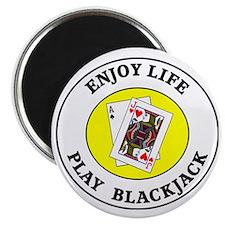 blackjack1 Magnet