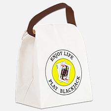 blackjack1 Canvas Lunch Bag
