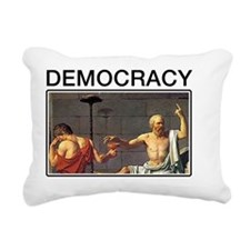 democracy100 Rectangular Canvas Pillow
