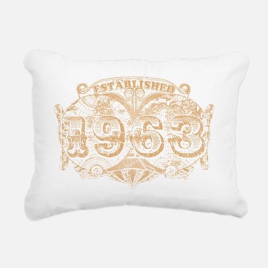 EST1963 Rectangular Canvas Pillow