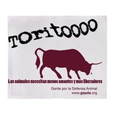 toritooo 2 Throw Blanket