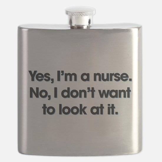 Yes I'm A Nurse Flask