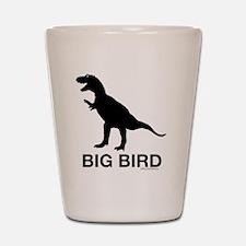 trexbigbird2 Shot Glass
