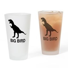 trexbigbird2 Drinking Glass