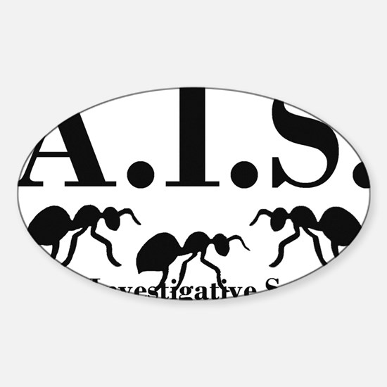 Ants Investigative Services Sticker (Oval)