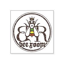 "bee-room-shirts-light-cafep Square Sticker 3"" x 3"""