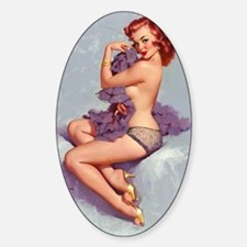 elvgren roxanne small poster Decal