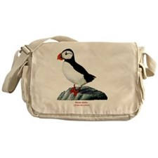 Atlantic Puffin Messenger Bag