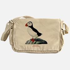 Atlantic Puffin Messenger Bag