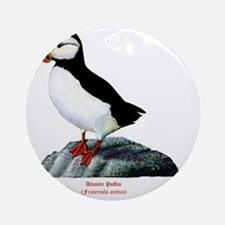 Atlantic Puffin Round Ornament