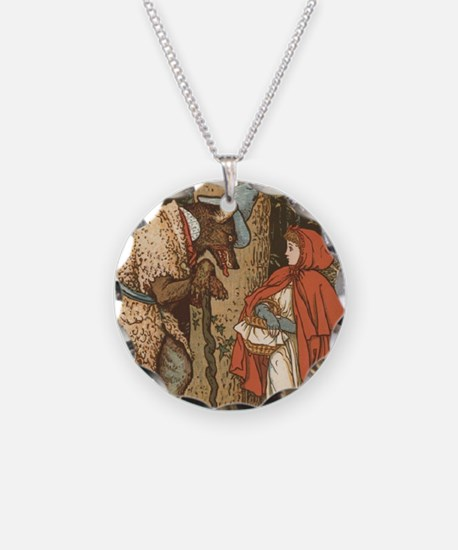LITTLE RED RIDING HOOD Walte Necklace
