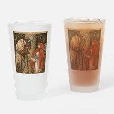LITTLE RED RIDING HOOD Walter_Crane Drinking Glass