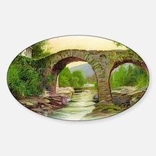 old-weir-bridge-killarney Decal
