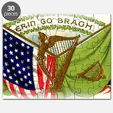 Erin Go Bragh Irish Flags Puzzle