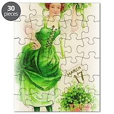 free-vintage-st-patricks-day-clip-art-woman Puzzle