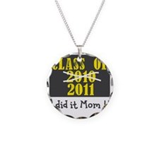 ClassOf2010-2011 Number2 Necklace Circle Charm