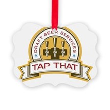 Tap That Logo COLOR_NO CREAM Ornament