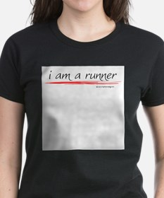 I am a runner slogan #1 Ash Grey T-Shirt
