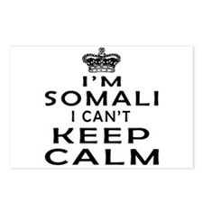 I Am Somali I Can Not Keep Calm Postcards (Package