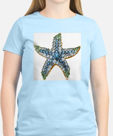 Blue Starfish Vintage Costum Women's Light T-Shirt