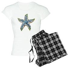 Blue Starfish Vintage Costu Pajamas