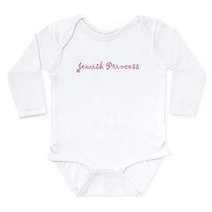 Jewish Princess Long Sleeve Infant Bodysuit