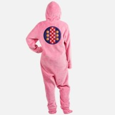 Mid Exchequer Footed Pajamas