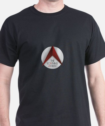 Scathing Atheist Logo T-Shirt