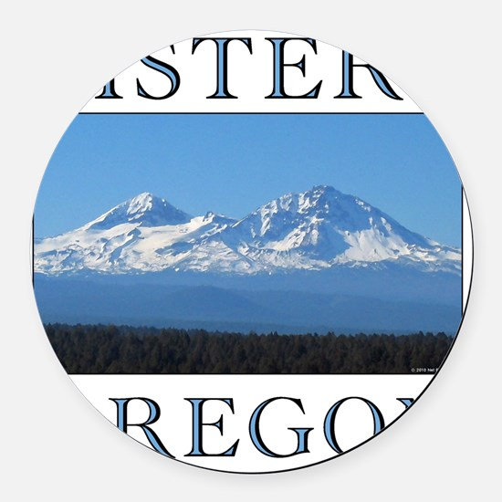 sisters_10t Round Car Magnet