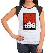 the birds - 11x17 poste Women's Cap Sleeve T-Shirt