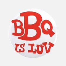 "bbqisluv_red_REVERSE 3.5"" Button"
